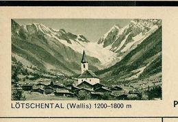 Carte Neuve Illustrée N° 182 - 0239 C ( LÖTSCHENTAL ( Wallis) 1200 - 1800 M) - Stamped Stationery