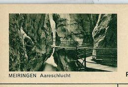 Carte Neuve Illustrée N° 182 - 0251 C ( MEIRINGEN Aareschlucht ) - Stamped Stationery