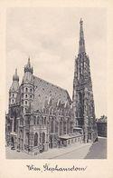 AK Wien - Stephansdom - Gruß Vom St. Stefansturm - Ca. 1910 (51219) - Stephansplatz