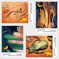 Romania 2020 /Institute Of Speleology Emil Racovita / Set 4 Stamps - Naturaleza