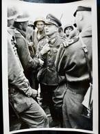 Photo ORIGINALE Presse Ww2 WwII : Prisonnier Allemand Par US ARMY & Britannique  // GERMAN POW - Guerra, Militares
