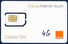 MOLDOVA - MOLDAVIA GSM (SIM) CARD ORANGE ACUM PERFECT MINT UNUSED - Moldavia