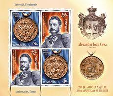 Romania 2020 / 200 Years Alexandru Ioan Cuza /set 2 Blocks - 1948-.... Repubbliche