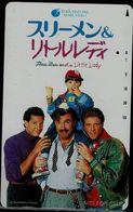 JAPAN 1990 PHONECARD CINEMA USED VF!! - Cinéma