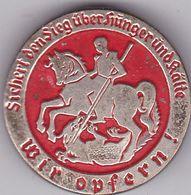 DEUTSCHLAND  --   WHW  ABZEICHEN  --  WINTERHILFSWERK  --  WIR OPFERN!  -- - 1939-45