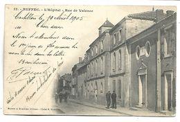 RUFFEC - L'Hôpital, Rue De Valence - Ruffec