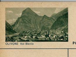 Carte Neuve Illustrée N° 182 - 0282 C ( OLIVONE Val Blenio ) - Stamped Stationery