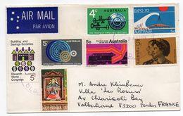 Australie--1974-- Lettre De BUDERIM Pour TOULON-83 (France)..composition De Timbres - 1966-79 Elizabeth II