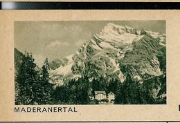Carte Neuve Illustrée N° 182 - 0248 C ( MADERANERTAL ) - Stamped Stationery