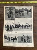 1910 JDV ENDURANCE NEGRE GUERRIERS CHASSEURS D AFRIQUE OCCIDENTALE SOUDAN SEGOU TAM TAM GUERRIER HAUTE GUINEE - Sammlungen