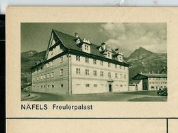 Carte Neuve Illustrée N° 182 - 0268 C ( NÄFELS  Freulerpalast ) - Stamped Stationery