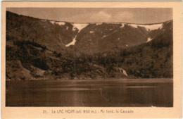 31or 810 CPA - LE LAC NOIR - AU FOND LA CASCADE - France