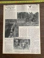 1910 JDV MINES D OR EN GUYANE CHERCHEURS NOMADES MANA NEGRES BOSCHS RIVERAINS DE MARONI - Sammlungen
