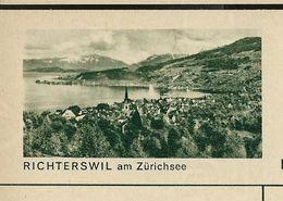 Carte Neuve Illustrée N° 182 - 0305 C ( RICHTERSWIL Am Zürichsee ) - Stamped Stationery