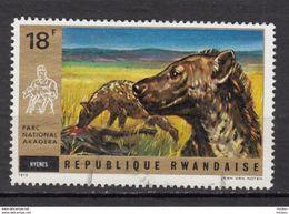 Rwanda, Hyene, Hyena - Sellos