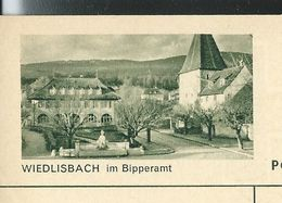 Carte Neuve Illustrée N° 182 - 0385 C ( WIEDLISBACH Im Bipperamt ) - Stamped Stationery