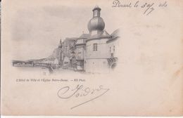 Dinant - L'Hôtel De Ville Et L'Église Notre Dame - Dinant
