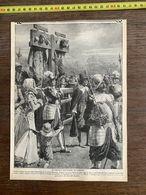 1910 JDV CORTEGE HISTORIQUE DE CHESTER 2 SUPPLICIES - Sammlungen