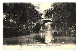 WW1 - Feldpost 1915 - Bruges - Au Pont Des Lions - Voûte De Verdure Magnifique Leeuwenburg - Brugge