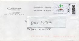 2019--Lettre De Vivonne Pour Vivonne-86 ---vignette Montimbrenligne  ( Plante) - 1961-....