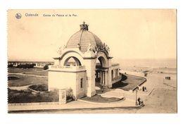 WW1 - Feldpost 1917 - Ostende - Entrée Du Palace Et La Mer - Oostende