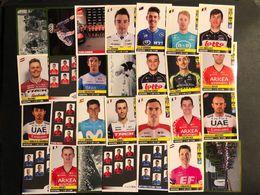 Panini Tour De France 2020 - 28 Verschillende Stickers - Cyclists - Cyclisme - Ciclismo -wielrennen - Wielrennen