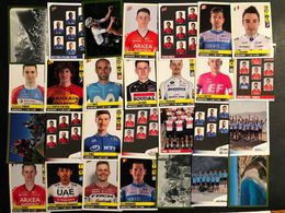 Panini Tour De France 2020 - 28 Verschillende Stickers - Cyclists - Cyclisme - Ciclismo -wielrennen - Cycling