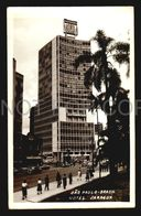 Brazil Modern International Style Architecture Sao Paulo Hotel  Real Photo Postcard W6-173 - Edificios & Arquitectura