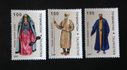 Tajikistan, Unused Stamps, « Ethnography », « Traditional Costumes », 1997 - Tadjikistan