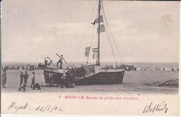 Heyst S. M. - Barque De Pêche Aux Crevettes - Heist