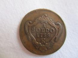 Italy: Goriza 1 Soldo 1788 K (Kemnitz) - Regional Coins