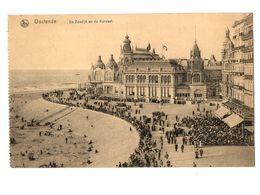 WW1 - Feldpost 1918 - Ostende - De Zeedijk En De Kursaal - Oostende