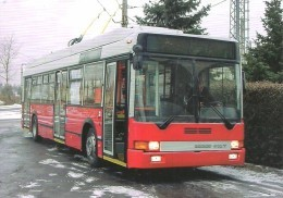 BUS * AUTOBUS * TROLLEY * TROLLEYBUS * IKRUS 412 T * BKV * BUDAPEST * Reg Volt 0203 * Hungary - Bus & Autocars
