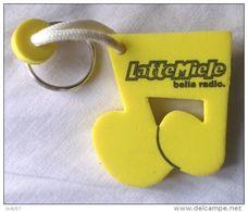 PORTACHIAVI  RADIO LATTE MIELE - Key-rings