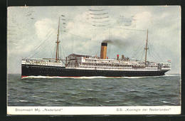 AK Passagierschiff SS Koningin Der Nederlanden, Stoomvaart Maatschappij Nederland - Paquebots
