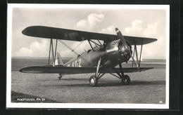 AK Doppeldecker-Kampfflugzeug Vom Typ Koolhoven FK 51 - 1939-1945: 2. Weltkrieg
