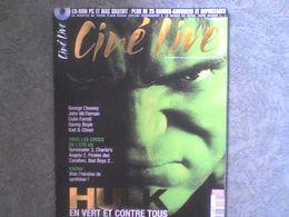 Ciné Live Hulk Jennifer Connelly George Clooney Sylvie Testud Michel Vaillant Ava Gardner + Cd + Affiches - Cinema