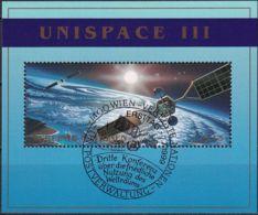 UNO WIEN 1999 Mi-Nr. Block 10 O Used - Aus Abo - Blocchi & Foglietti