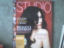 Studio Monica Bellucci 14 P + Jean-Paul Rouve Guillaume Canet Diane Kruger Robert Guédiguian Martin Scorcese + Dvd - Cinema