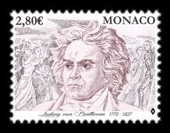 Monaco 2020 Mih. 3492 Music. Composer Ludwig Van Beethoven MNH ** - Monaco
