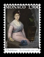 Monaco 2020 Mih. 3496 SEPAC. Art In The National Collection. Indifference. Painting Of Eva Gonzales MNH ** - Monaco