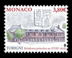 Monaco 2020 Mih. 3499 Torigny Ancient Grimaldi Stronghold MNH ** - Monaco