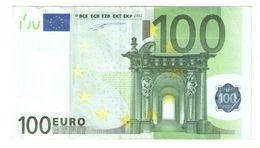"""100 Euro Rare """"N"""" F001B4 - EURO"""