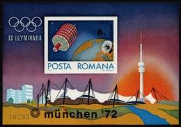 Rumänien 1972 - Mi-Nr. Block 98 ** - MNH - Olympia München - 1948-.... Républiques