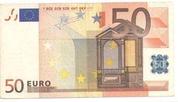 "50 Euro Rare ""S"" J034D3 - 50 Euro"