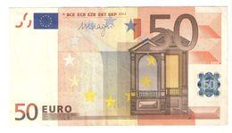 """50 Euro """"F"""" R051E5 - 50 Euro"""