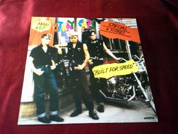 STRAY  CATS  ° BUILT FOR SPEED  MAXIS  4 TITRES 1983 - 45 Rpm - Maxi-Single