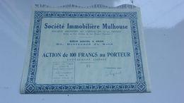 IMMOBILIERE MULHOUSE (oran,algérie) - Acciones & Títulos