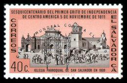 El Salvador, 1963, Freedom From Hunger, FAO, United Nations, MNH, Michel 848 - El Salvador