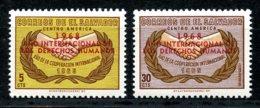 El Salvador, 1968, Human Rights Declaration, United Nations, Overprint, MNH, Michel 945-946 - El Salvador